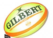 Pelota Rugby Gilbert Omega Fluo